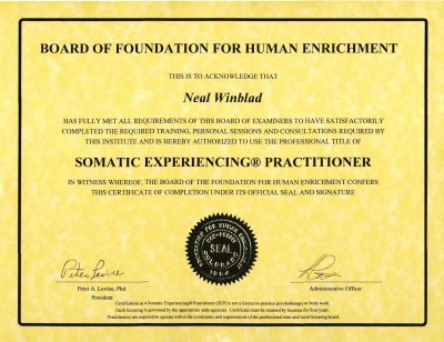 4 - Somatic Experiencing Practitioner Certificate